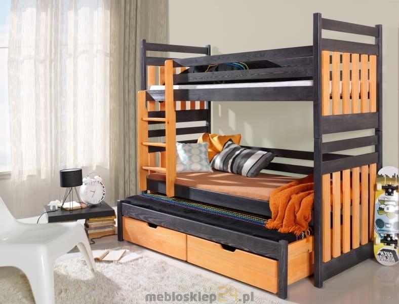 łóżko Piętrowe Trzyosobowe Sambor Sklep Meblowy Antresole